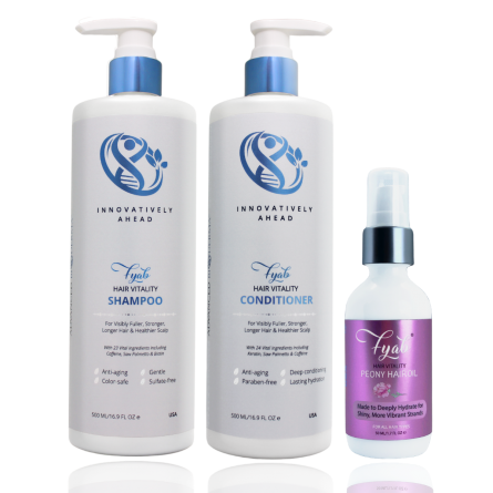 FYAB ANTI-AGING HAIR SET WITH PEONY OIL 500 ML