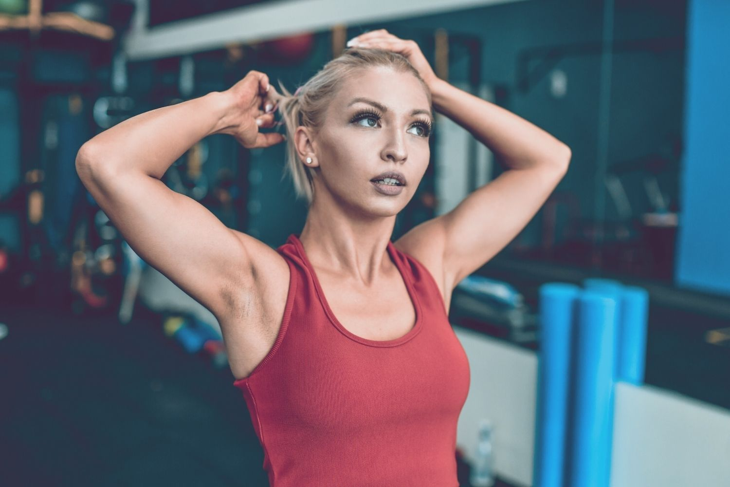 tips for after workout hair